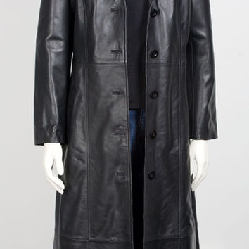 Best Long Leather Coat Men Products on Wanelo