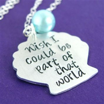 Part of That World Necklace - Spiffing Jewelry