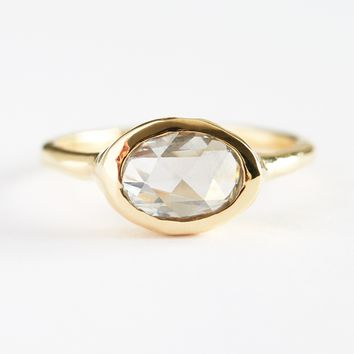 Rose Cut Diamond Ring by Kathryn Bentley for Of a Kind