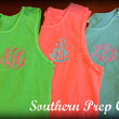 Comfort Colors Brand Monogrammed UNISEX/MENS Style Tank