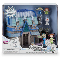 Disney Store Animator's Collection Littles Frozen Micro Doll Playset New w Box