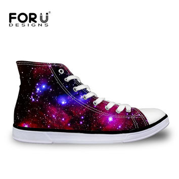 Classic Men Women Canvas Shoes Casual HighTop Mens Shoes Round Toe Ankle Shoes Luxury Galaxy Star Flat Footwear Zapatos Hombre