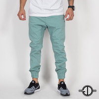 The Marathon Pant - Kali Mint