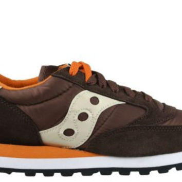 Saucony Mens Sneakers Jazz Original Brown Orange 2044-289