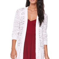 LA Hearts Open Oversized Cardigan - Womens Sweater