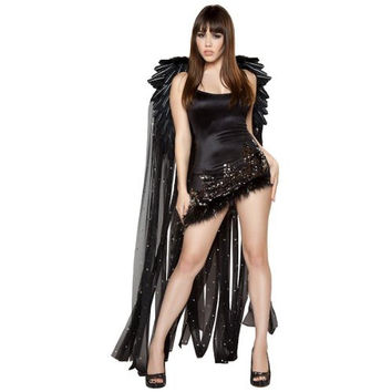 Roma Womens Damsel in Distress Halloween Party Angel Costume