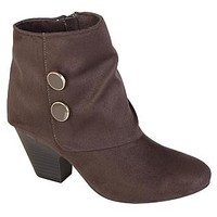 Covington- -Women's Shelly Ankle Gray Fashion Bootie-Shoes-Womens Shoes-Womens Boots