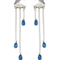 LOVEsick Cloud Rain Drop Earrings