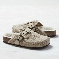 AEO CABLE KNIT CLOG