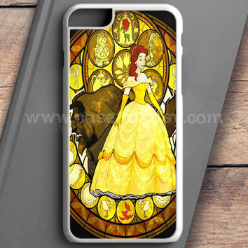 Disney Beauty And The Beast Painting iPhone 6S Plus Case | casefantasy