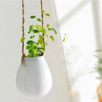 Ceramic Hanging Flower Pot