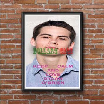 Dylan Obrien keep calm Photo Poster