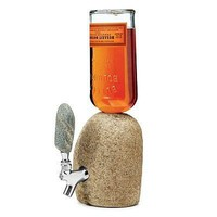 Stone Drink Dispenser Lets You Squeeze Booze From A Stone
