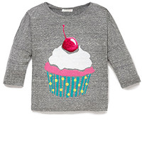 Sweet Cupcake Top (Kids)