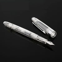 Transparent Fountain Pen Ink Gift Package School Supplies 0.38mm Office Supplies Office Accessories Pen Ink Pen High Quality