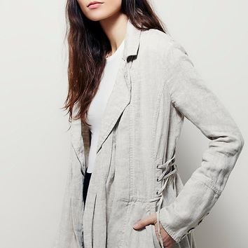 Free People Draped Duster