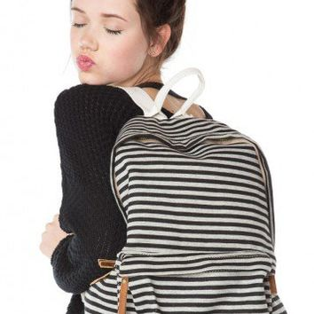 Brandy ♥ Melville |  John Galt Striped Backpack - Accessories