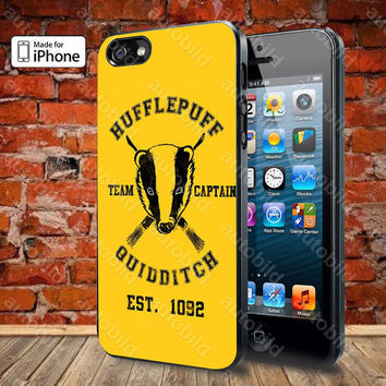 Hufflepuff Team Captain Quidditch Case For iPhone 5, 5S, 5C, 4, 4S and Samsung Galaxy S3, S4