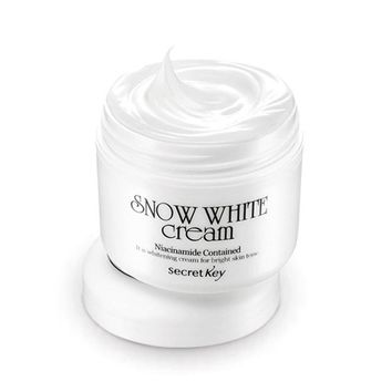 SECRET KEY Snow White Cream 50g Lightening Whitening Face Cream Whitening Moisturizing Skin Care Bright Skintone Facial Cream