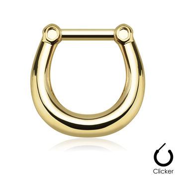 Gold Septum Clicker