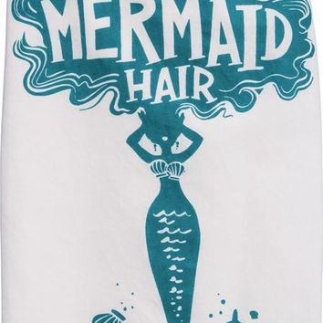 Mermaid Hair Cotton Dish Towel Set