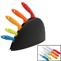 Gibson Colorsplash 6pc Anton Cutlery Set