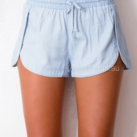 BLUE AWAY SHORTS , DRESSES, TOPS, BOTTOMS, JACKETS & JUMPERS, ACCESSORIES, $10 SPRING SALE, NEW ARRIVALS, PLAYSUIT, GIFT VOUCHER, $30 AND UNDER SALE, SWIMWEAR, SLEEP WEAR,,SHORTS Australia, Queensland, Brisbane