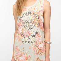 Grateful Dead Floral Muscle Tee