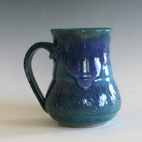 Pottery Mug, handmade ceramic cup, tea cup, coffee cup, handthrown ceramic stoneware pottery mug, unique coffee mug