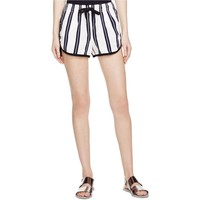 Rag & Bone Womens Linen Striped Casual Shorts