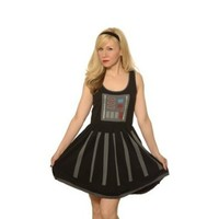 Star Wars Darth Vader A-Line Dress (X-Large)