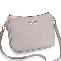 Vintage cute bow small handbag women clutch ladies mobile purse famous brand shoulder messenger crossbody bags WZ139