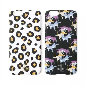 ESBONG Stylish Cute Hot Deal Iphone 6/6s On Sale Hot Sale Iphone Fashion Leopard Cats Phone Case [8864261895]