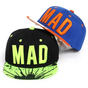 2017 Best Goods Kids Baseball Caps Style Letter Baby Hip Cap MAD Hop [10584518351]