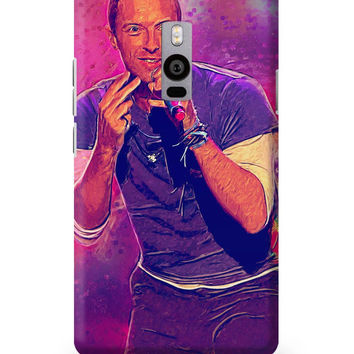 Chris Martin Coldplay OnePlus Two Cover