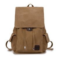 Hot Deal Stylish Back To School On Sale Comfort College Casual Canvas Backpack [10648211715]