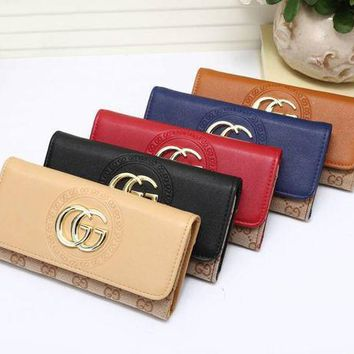 PEAPKG5 Gucci Women Leather Purse Wallet