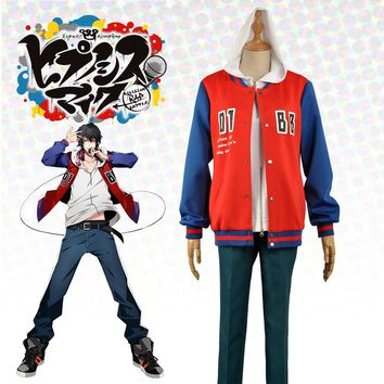 Japanese Voice Actor Division Rap Battle Yamada Ichiro Hypnosis Mic Buster Bros!!! MC.B.B Uniform Outfit Cosplay Costume