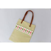Shajara market bag (mint)