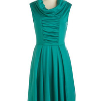Storytelling Showstopper Dress in Jade