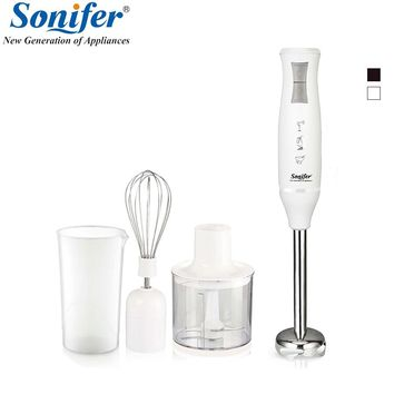 400W Multifunction electric Colorful hand blender mixer kitchen egg beater vegetable Meat Grinder Sonifer