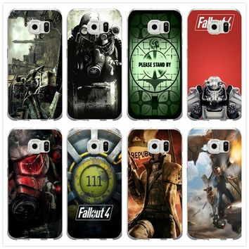 Fashion Fallout 4 Video Games For Samsung Galaxy Note 2 3 4 5 8 S3 S4 S5 Mini S6 S7 S8 S9 Edge Plus Soft TPU Phone Cases Cover