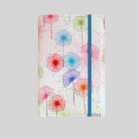 Kindle Cover Hardcover Kindle Case Nook Cover Nexus 7 Cover Nexus 7 Case Custom eReader Cover Multi Color Dandelion