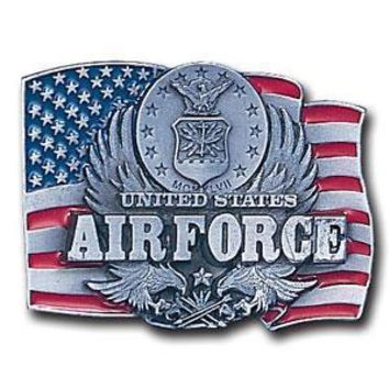 Sports Jewelry & AccessoriesSports Accessories - Air Force Enameled Belt Buckle