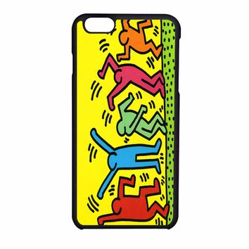 Keith Haring Pop Art Iphone Leaftunes Iphone 6S Case