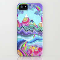 Somewhere Over The Rainbow iPhone & iPod Case by Monika Strigel