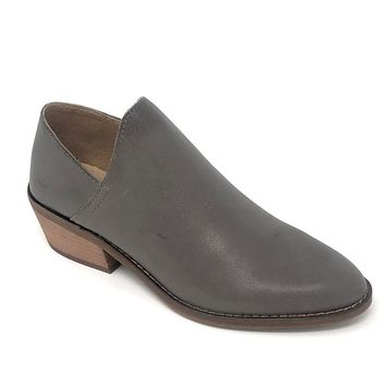 Lucky Brand Fausst Titanium Ankle Booties