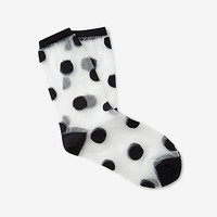 LARGE POLKA DOT SOCK