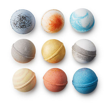 Solar System Bath Bombs Set | Luxury Planet Bath Set