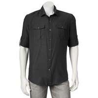 Rock & Republic Textured Button-Down Shirt